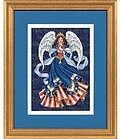 Patriotic Angel - Cross Stitch Kit