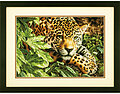 Leopard in Repose  - Cross Stitch Kit