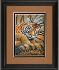 Cozy Cub (Tiger) - Cross Stitch Kit