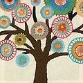 Tree - Crewel Embroidery Kit