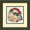 Christmas Morning Pets - Cross Stitch Kit