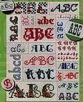 BIG Collection of Alphabets - Cross Stitch Patterns