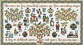 Ages of Man - Cross Stitch Pattern