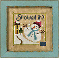 Snowed In - 6 Fat Men Series - Cross Stitch Pattern