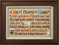 Cat Lessons for People - Cross Stitch Pattern