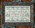 It Is Well - Cross Stitch Pattern