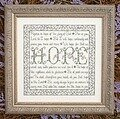 Building Blocks - Hope - Cross Stitch Pattern