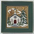 Country Church (beaded kit)