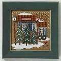 Tree Farm - Beaded Cross Stitch Kit