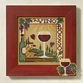 Vino Rosso - Cross Stitch Kit