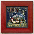 Joy to the World - Cross Stitch Kit