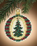 Golden Tannenbaum - Cross Stitch Kit