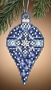 Sapphire Snow - Cross Stitch Kit