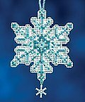 Aqua Crystal - Cross Stitch Kit