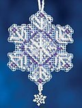 Amethyst Crystal - Cross Stitch Kit