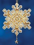 Gold Crystal - Cross Stitch Kit