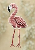 Flamingo - Cross Stitch Kit