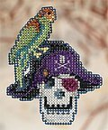 Irate Pirate - Cross Stitch Kit