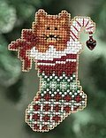 Kitty's Stocking - Cross Stitch Kit
