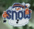 Snow Buddy - Cross Stitch Kit