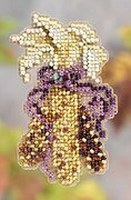 Indian Corn - Beaded Cross Stitch Kit