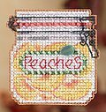 Peaches - Cross Stitch Kit