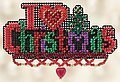 I Love Christmas (Beaded Kit)