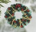 Holly Wreath 2006 (Beaded Kit)