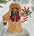 Gingerbread Boy 2006 (beaded kit)