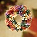 Fall Wreath (beaded kit)