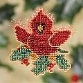 Christmas Cardinal (beaded kit)