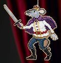 Mouse King - Beaded Cross Stitch Kit