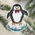 Proud Penguin - Cross Stitch Kit