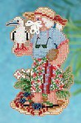 Christmas Island Santa - Cross Stitch Kit