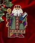 Saxony Santa - Medieval Santas (beaded kit)