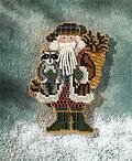 Blue Ridge Santa - Appalachian Santas - Cross Stitch Kit