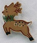 Reindeer Button