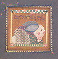 Hippity Hoppity - Beaded Cross Stitch Kit