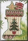 Evergreen Stocking - Cross Stitch Kit