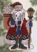 Snow Drift Santa - Cross Stitch Kit