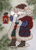 Ice Cap Santa - Cross Stitch Kit