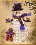 Gingerman Snow Charmer (beaded kit)
