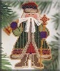 Bell Ringer Santa - Cross Stitch Kit