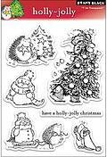 Holly Jolly Christmas - Clear Stamps