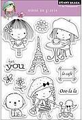 Mimi In Paris - Clear Rubber Stamps