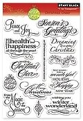 Christmas Cheer - Clear Stamps