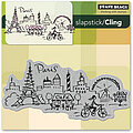 Paris - Slapstick Cling Rubber Stamps