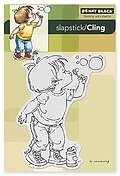 Bubble Boy - Slapstick Cling Stamps