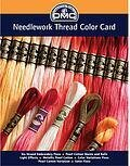 DMC Needlework Thread Printed Color Card