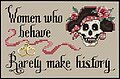 Women Who Behave - Cross Stitch Pattern